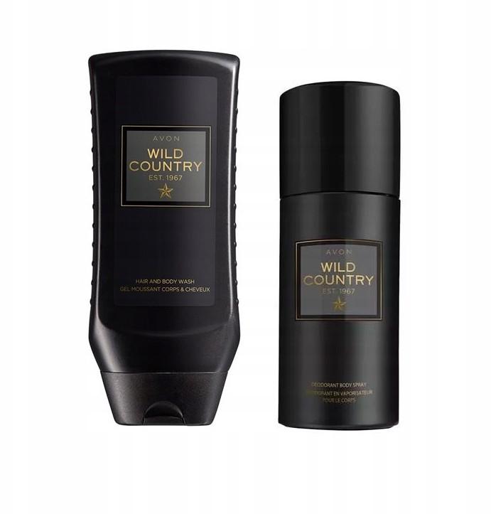 Avon AVON_Wild Country_ zestaw - żel+dezodorant