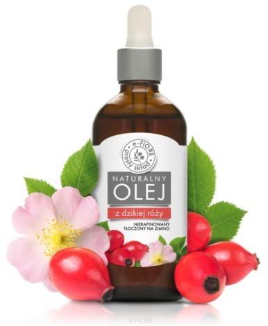 e-FIORE Olej z Dzikiej Róży, Nierafinowany, 50ml