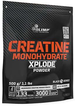 Olimp Creatine Monohydrate Xplode (Monohydrat Kreatyny) 500g BAG Cytryna
