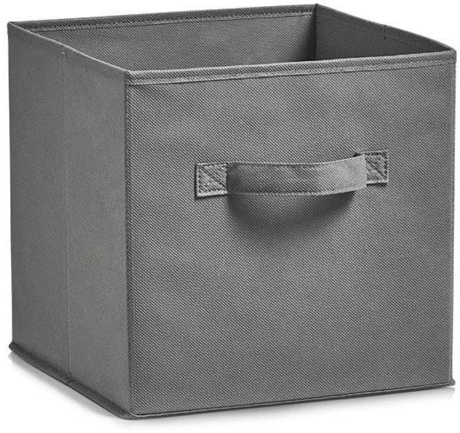 Zeller Koszyk do przechowywania szary, 26x26x26 cm