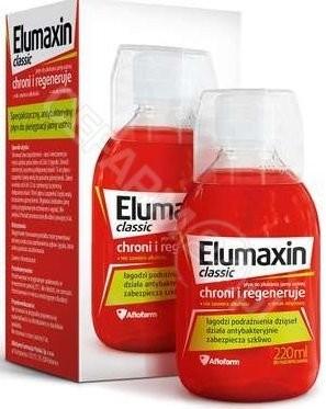 AFLOFARM Elumaxin Classic płyn do płukania jamy ustnej 220 ml