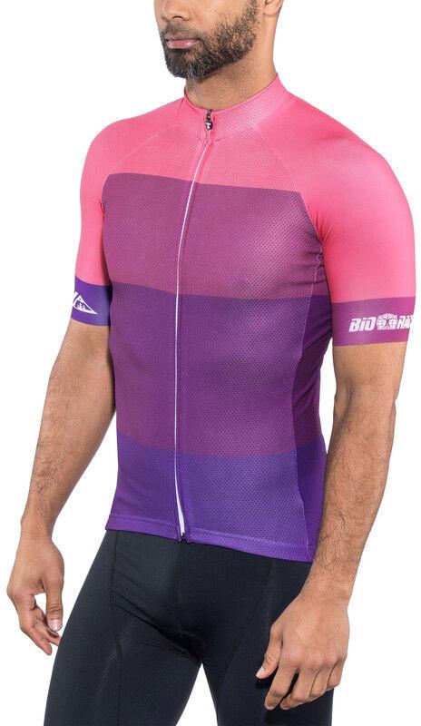 Red cycling products Red Cycling Products Colorblock Race Koszulka rowerowa z zamkiem błyskawicznym Mężczyźni, purple-pink XL 2020 Koszulki kolarskie CO_IS51340-18-001986 -XL