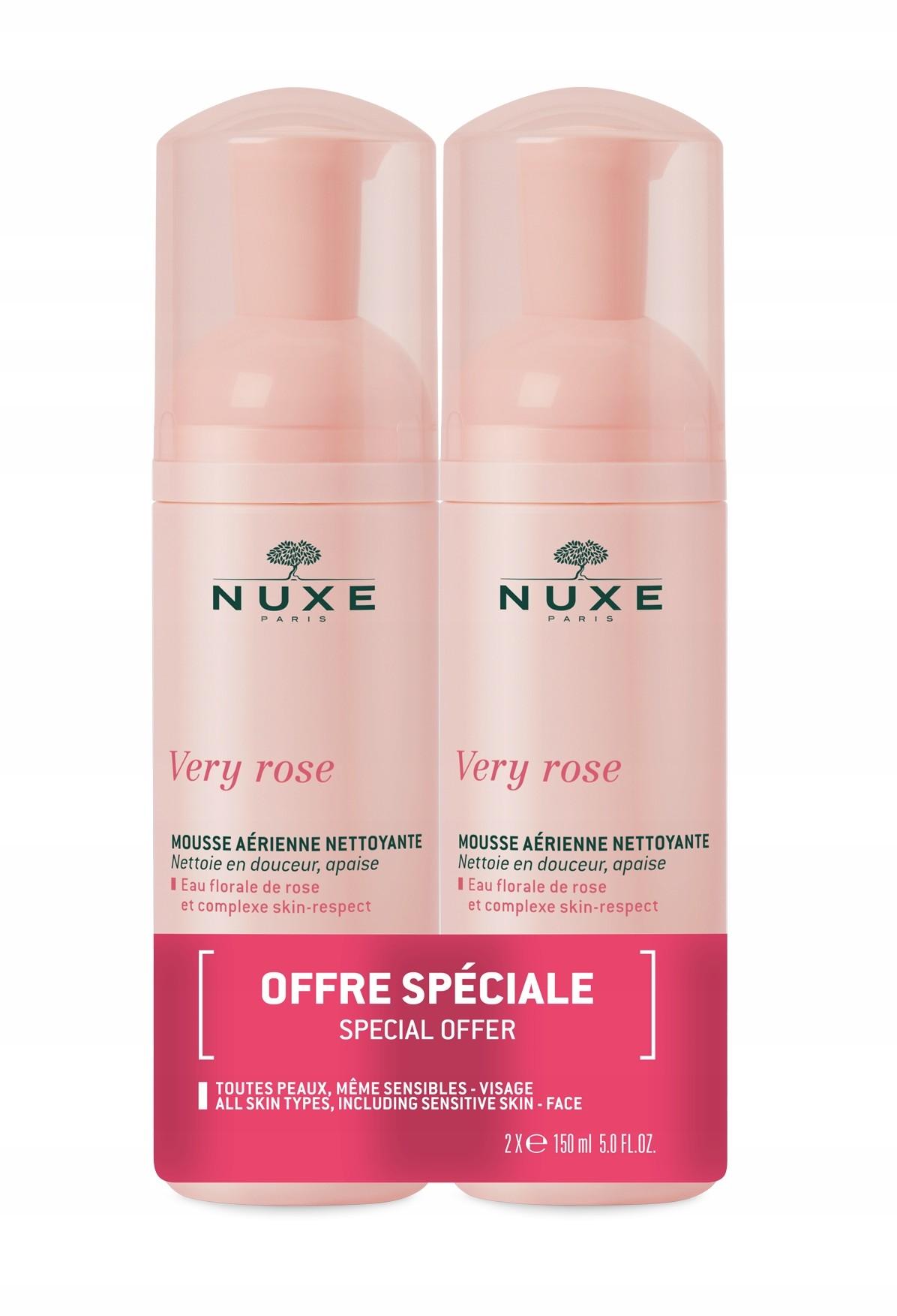 Nuxe Very Rose Pianka Micelarna Oczyszczająca