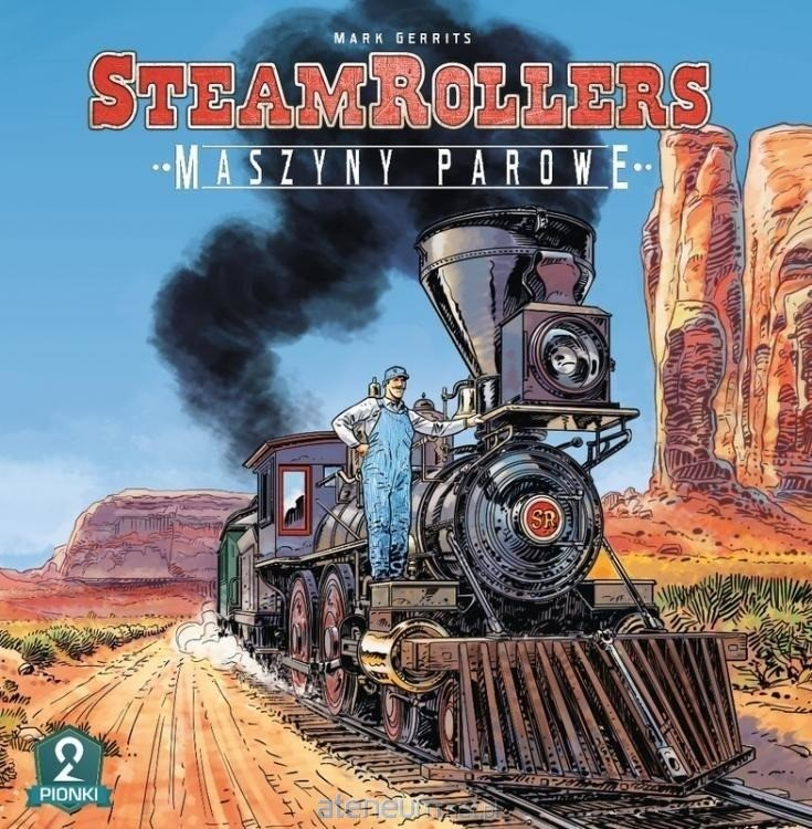 2 Pionki Steam Rollers Maszyny Parowe