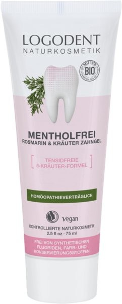 Logona Żel do zębów z rozmarynem i ziołami