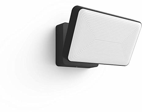 Philips Hue White and Color Ambiance reflektor LED, do użytku na zewnątrz, możliwość przyciemniania, do 16 milionów kolorów, sterowanie za pomocą aplikacji, kompatybilny z Amazon Alexa (Echo, Echo Dot