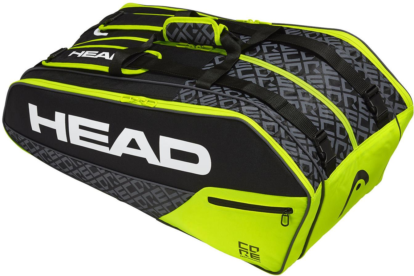 Head Core 9R Super Combi Black / Neon Yellow 283509 BKNY