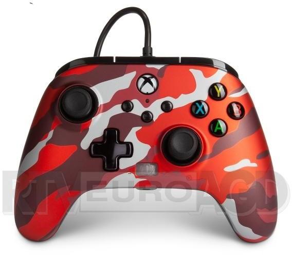 POWERA Xbox One Enhanced Metalic Red Como (1518910-01)