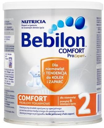 NUTRICIA CUIJK B.V. NUTRICIA CUIJK B.V Bebilon Comfort 2 ProExpert Dietetyczny środek spożywczy powyżej 6 miesiąca życia 400 g 4826251