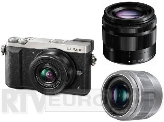 Opinie o Panasonic Lumix DMC-GX80 + 12-35mm + 35-100mm srebrny
