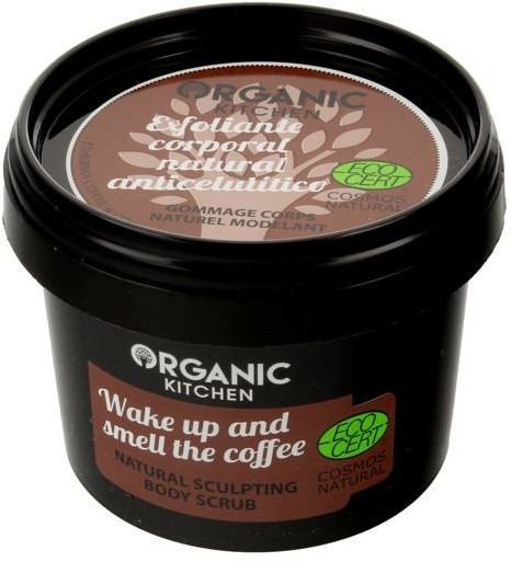 ORGANIC KITCHEN Modelujący Scrub do Ciała Obudź się i Poczuj Zapach Kawy, Organic Kitchen, 100ml