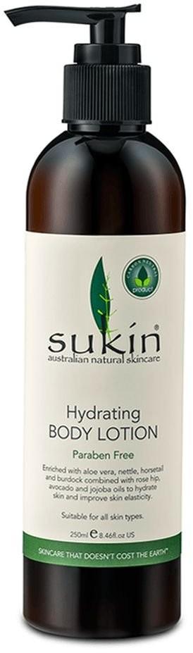 Sukin Sukin, nawilżające roślinne mleczko do ciała, 250 ml