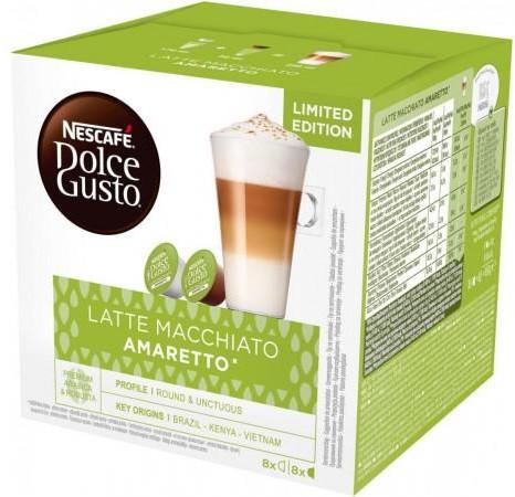 Nescafe DOLCE GUSTO DOLCE GUSTO Latte Macchiato Amaretto 16 kaps > BOGATA OFERTA RATY SUPER PROMOCJE SPRAWDŹ W