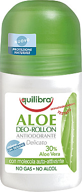 EQUILIBRA Aloesowy dezodorant w kulce - Aloe Deo Aloes Roll-On