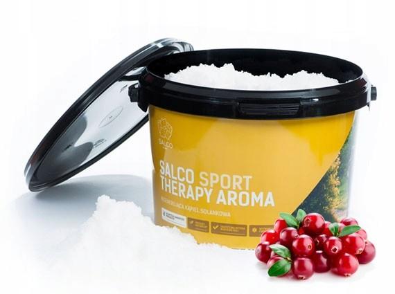 Salco Sport Therapy Aroma Cytrynowa Żurawina 3 Kg