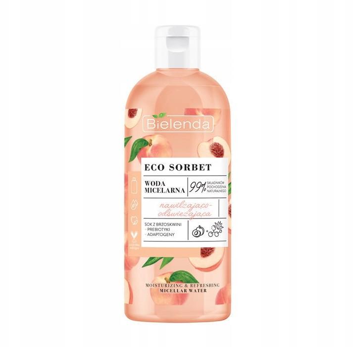 Bielenda Eco Sorbet Woda Micelarna prebiotyki