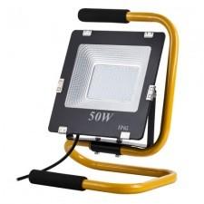 ART Halogen, naświetlacz LED 50W biały dzienny ze stojakiem, uchwytem, kablem 2m, wtyczką 4101612