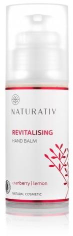 Naturativ Rewitalizujący balsam do rąk, Żurawina, cytryna, 100 ml, 02B8-8205C