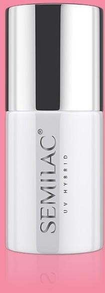 Semilac 199 Lakier hybrydowy UV Hybrid Semilac Business Line Warm Pink ZE507199