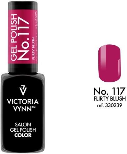 Victoria Vynn Lakier hybrydowy GEL POLISH COLOR 8 ml - Flirty Blush 117c 330239-VICTORIA-VYNN