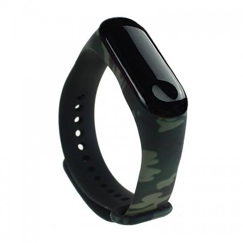 Xiaomi Opaska Xiaomi Mi Band 4 / 3 Camouflage Zielona wristband_20191022172750