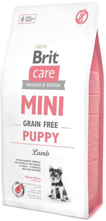 Brit Care Grain Free Mini Puppy Lamb 7 kg