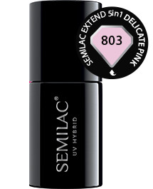 Semilac Extend 5in1 Delicate Pink 803