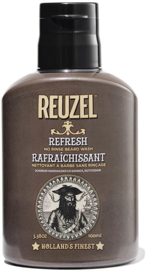 Reuzel Reuzel Beard Refresh No Rinse Suchy szampon odświeżający do brody i wąsów dla mężczyzn 100ml 17161