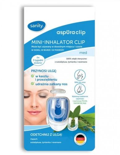 aspuraClip GMBH Mini-inhalator Clip Med 87C5-21012