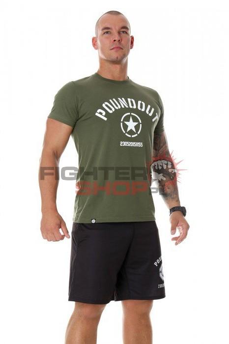 Poundout Koszulka Męska KHAKI