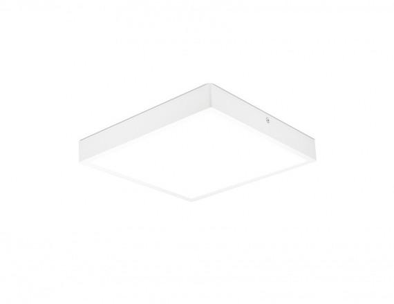 Kohl Lighting Plafon TRIM SQUARE SURFACE K50276.W.4K 4000K 5439lm Kohl Lighting nowoczesna lampa w kolorze białym K50276.W.4K