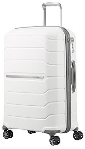83a0ef71d1ce8 Samsonite Flux Spinner 55/20 Expandable bagage Cabine, kolor: biały  88538/1908
