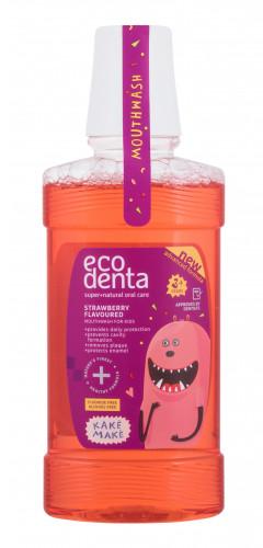 Ecodenta Ecodenta Super+Natural Oral Care Strawberry płyn do płukania ust 250 ml dla dzieci