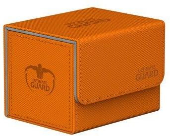 Ultimate Guard UG Pudełko SideWinder 80+ XenoSkin pomarańczowe