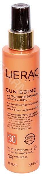 Lierac Sunissime energetyzujące mleczko ochronne SPF 30 150 ml