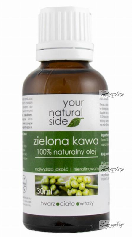 Your Natural Side 100% naturalny olej z zielonej kawy - 30 ml YOUNZKML-01