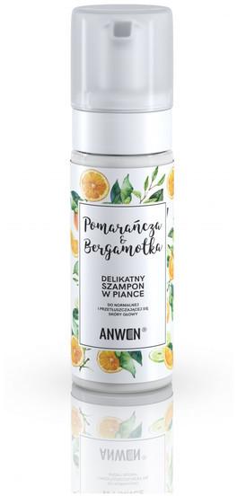 Anwen Anwen Szampon w PIANCE Pomarańcza i Bergamotka do normalnej przetłuszczającej się skóry głowy 170ml