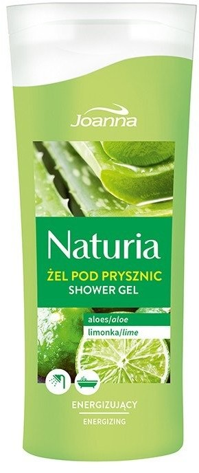 Joanna Naturia Energizing Shower Gel Aloes & Limonka 100ml