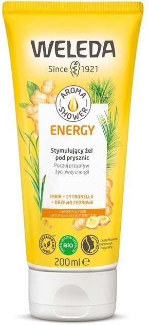 Weleda Aroma Shower Żel pod prysznic Energy 200ml 58210-uniw