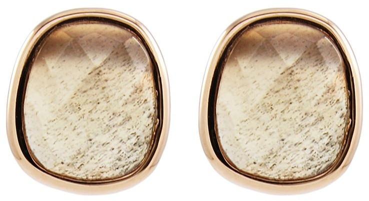 Lola Rose Bassa Grey Moonstone Mini Facet Earrings 606486