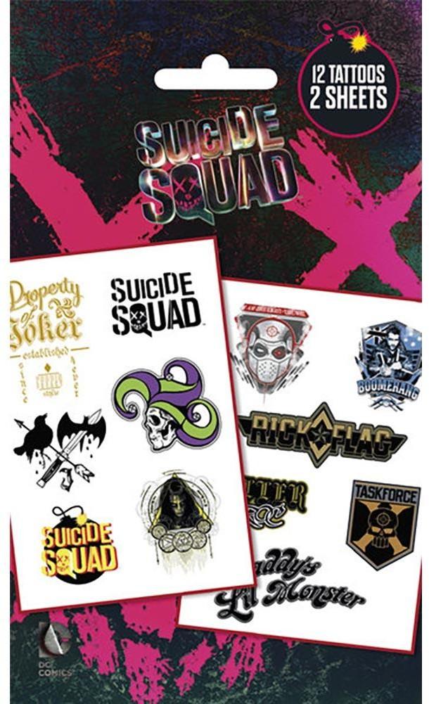 - Legion Samobójców  zestaw tatuaży