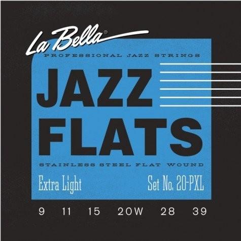 LaBella 20-PXL Jazz Flats 9-39
