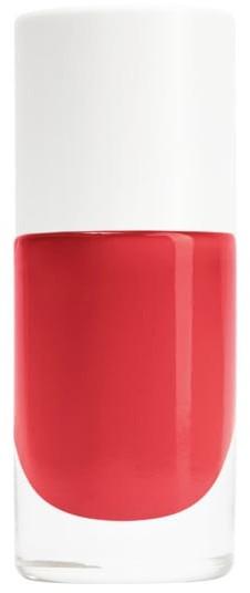 Nailmatic Nailmatic NAIL POLISH CORAL RED bezwonny lakier do paznokci na bazie wody KORALOWA CZERWIEŃ Poppy Lakier do paznokci 8ml