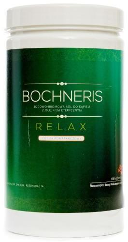 Bochneris Sp. z o.o. Relax sól jodowo-bromowa z olejkiem pomarańczowym 1400 g 1145672