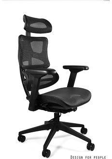 Unique Fotel ergonomiczny ERGOTECH Czarny Nylonowa Zapytaj o RABAT CM-B137A-4