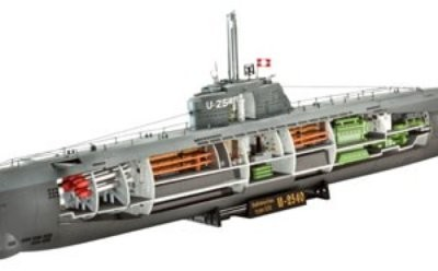 Revell  1148 German UBoot Typ XXI MR-5078