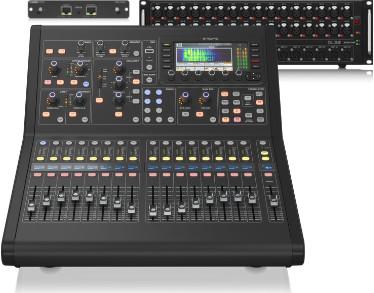 MIDAS M32R LIVE + DL32 + Klark Teknik DN32-DANTE - zestaw