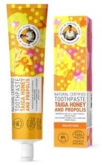 Pierwoje Reszenie Pasta do zębów Miód z Taigi i Propolis 85g 52583-uniw
