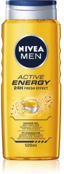 Nivea Active Energy odświeżający żel pod prysznic do twarzy ciała i włosów 500 ml