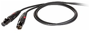 Die Hard Die Hard DHG240LU5 kabel zbalansowany XLR 3p Die Hard Gold. 5 m długości. DHG240LU5